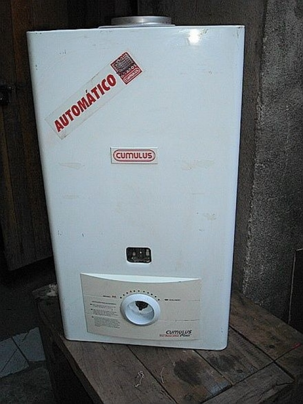 Aquecedores elétricos no Conjunto Residencial Prestes Maia