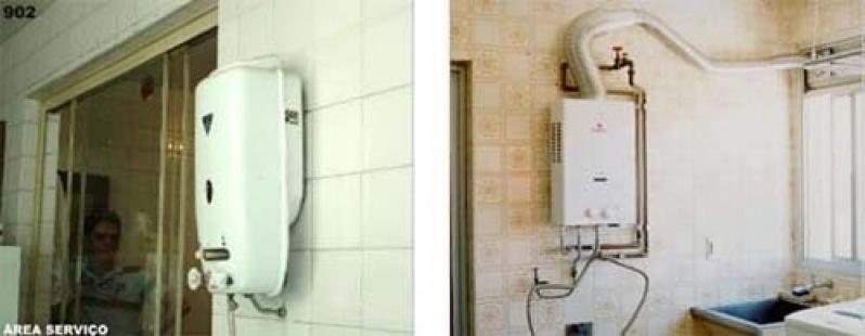 Conserto de aquecedores a gás no Conjunto Habitacional Prestes Maia