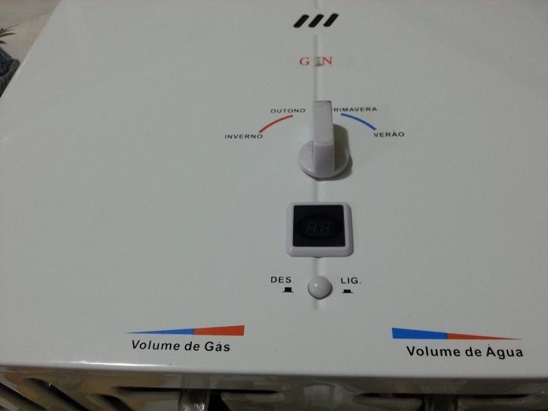 Instalação de aquecedor elétrico na Vila Olga