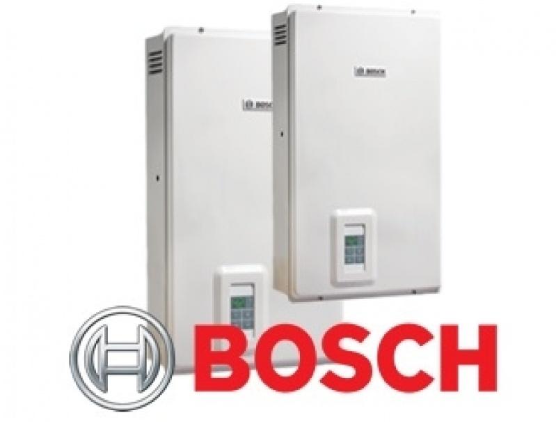 Instalação de aquecedor Orbis para empresa grande na República
