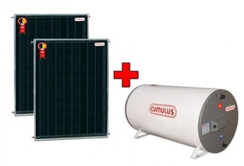 Instalação de Aquecedor Solar na Chácara Maranhão