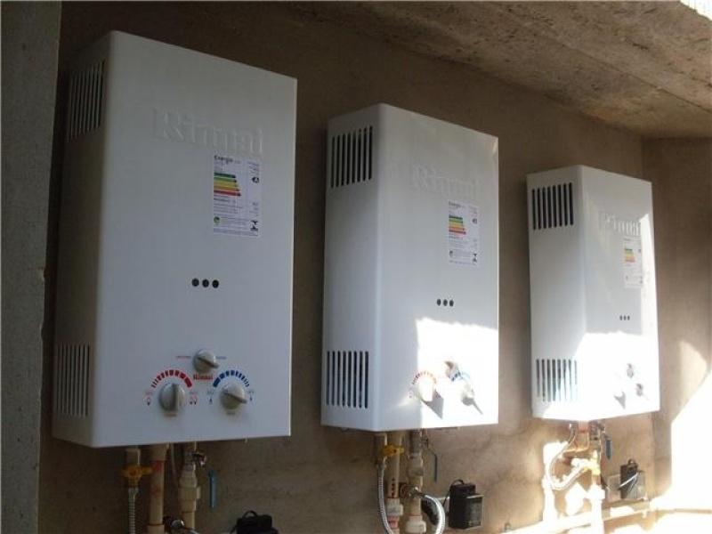 Instalação de Aquecedor Solar no Pari