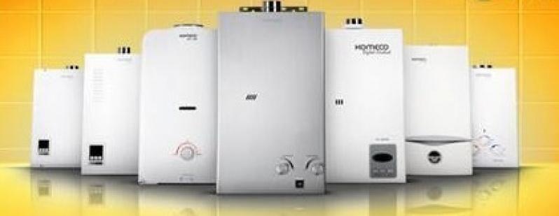 Instalações de aquecedor a gás na Vila Santa Teresa