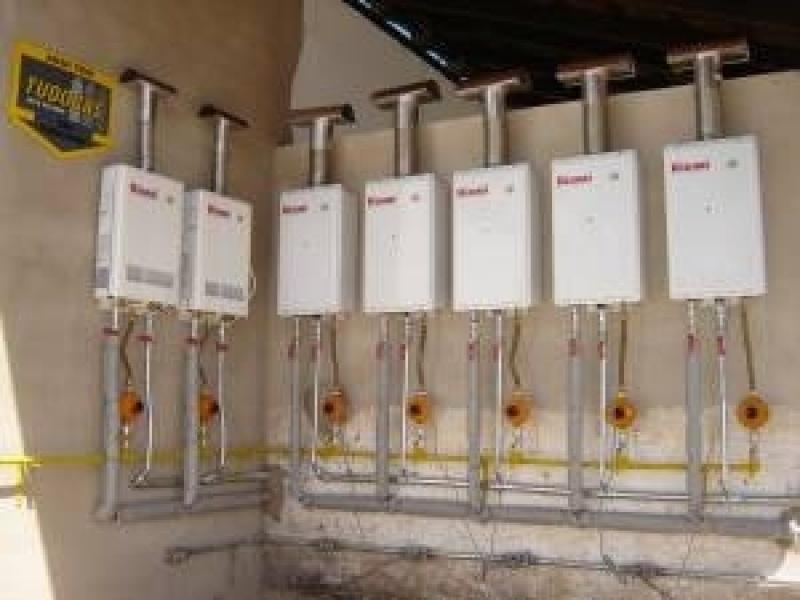 Manutenção preventiva aquecedor solar no Jardim São Martinho