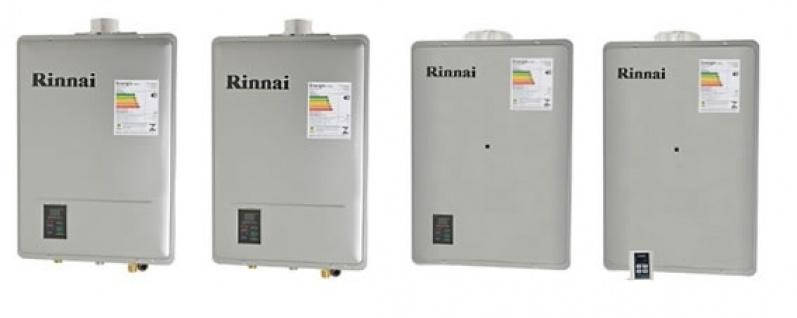 Preços manutenção de aquecedor a gás Rinnai no Jardim Guanandi