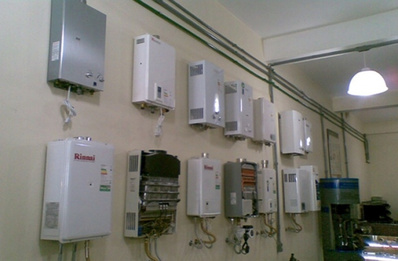 Quanto custa aquecedor a gás Rinnai no Jardim Uberaba