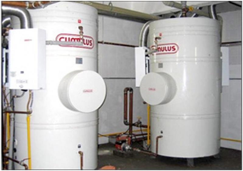 Site aquecedor de água na Vila Reis