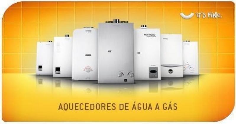 Valores de aquecedor água a gás na Chácara Lagoinha