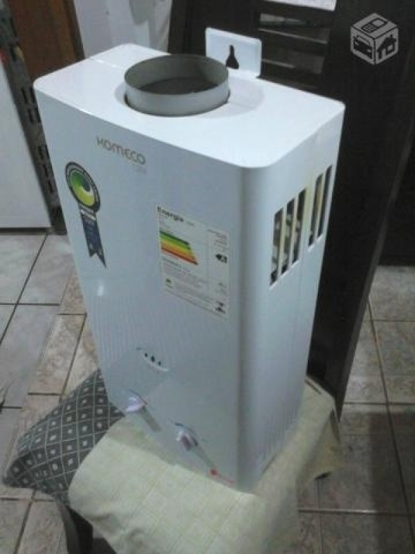 Aquecedor a gás de passagem barato na Vila Acre