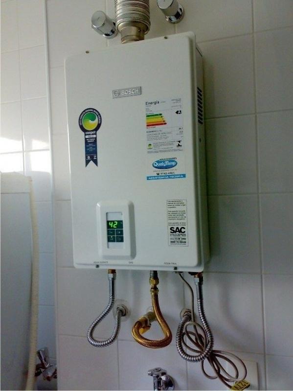 Aquecedor a gás de passagem valor na Vila Chica Luíza