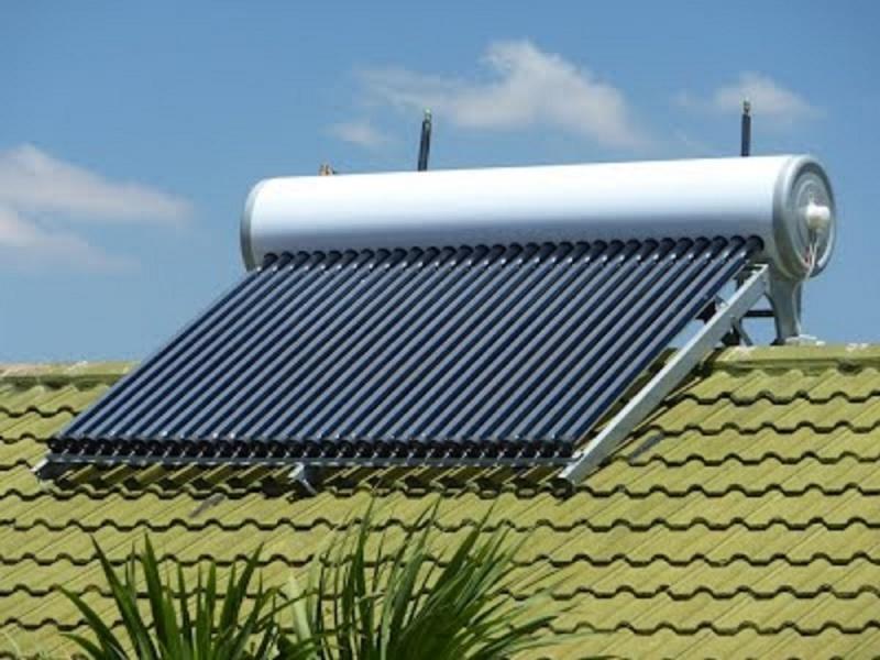 Aquecedor solar para piscinas no Sítio das Francas