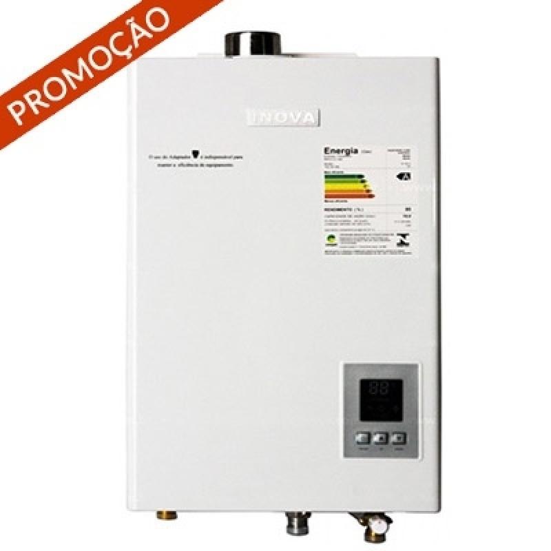 Conserto de aquecedor a gás Bosch barato  na Vila Roschel