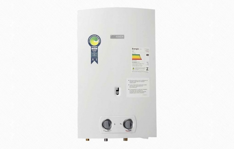 Empresa distribuidora de aquecedor água a gás na Vila Maria Augusta