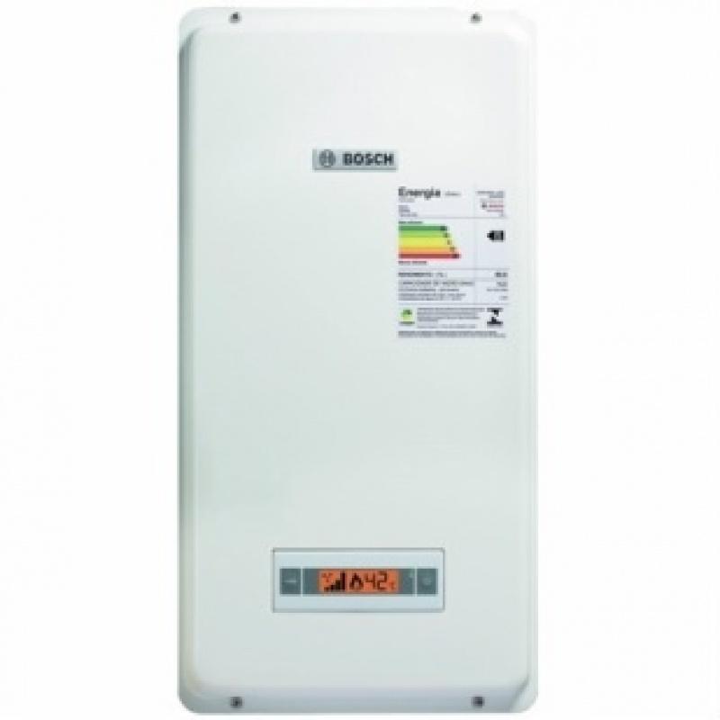 Instalação de aquecedor a gás no Educandário