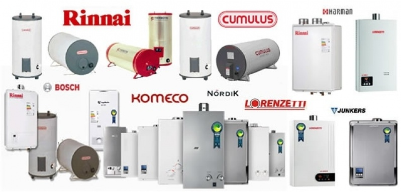 Instalação de aquecedor Bosch na Vila Carmem