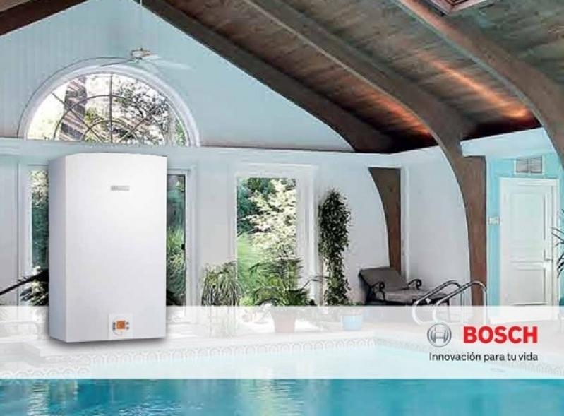 Instalação de aquecedor de água a gás na Vila Primavera