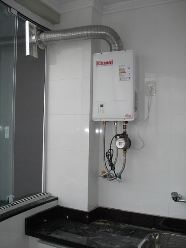 Instalação de aquecedor de ambiente a gás na Jardim Vivian