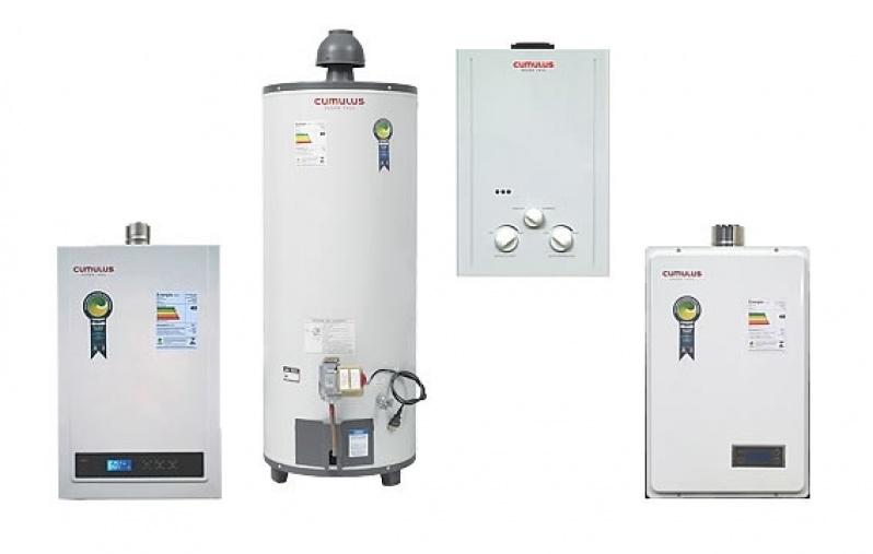 Instalação de aquecedores a gás para condomínio na Penha de França
