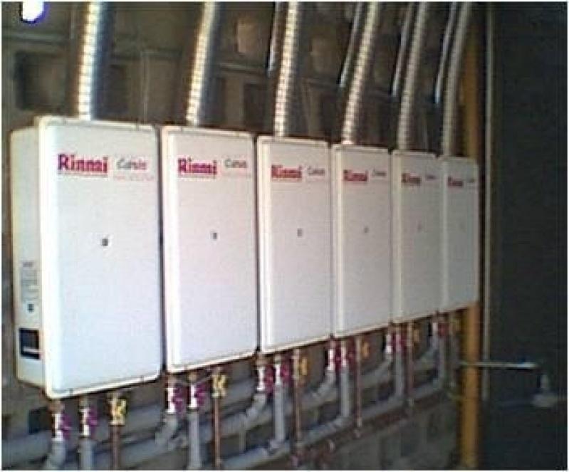 Instalação par aquecedor de gás na Vila Angélica