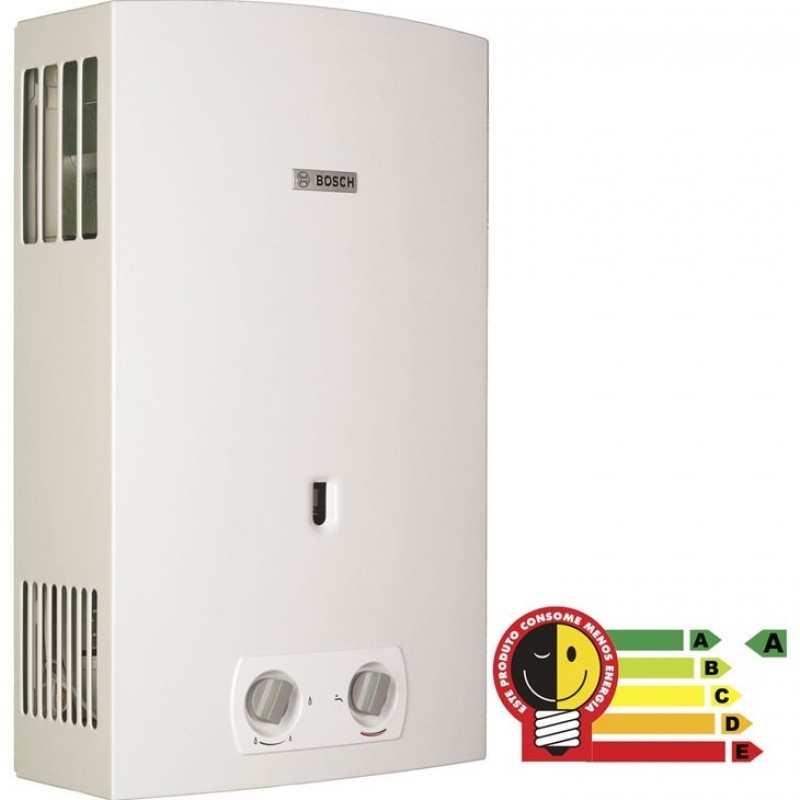 Instalações de aquecedor a gás na Vila Raquel