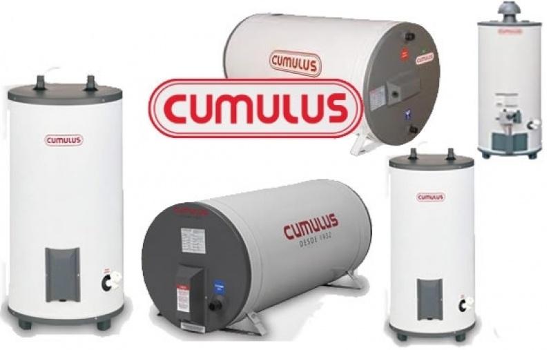 Instalações de aquecedor de gás no Parque Cruzeiro do Sul