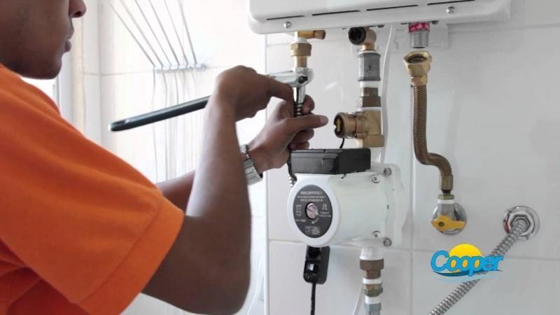 Instalar aquecedor de gás na Vila Libanesa