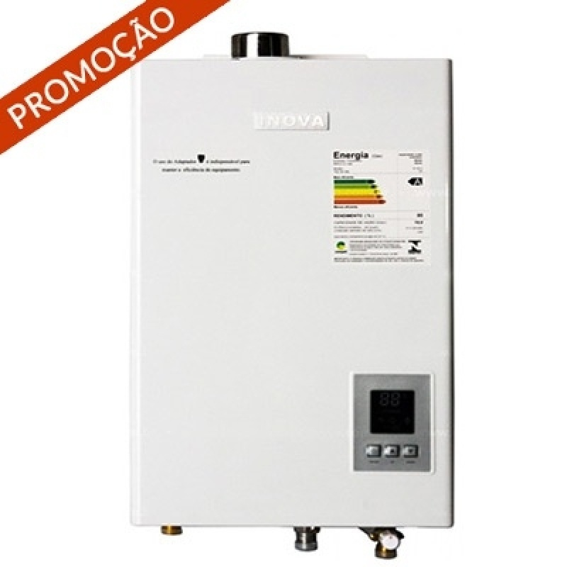 Preços de aquecedor de água na Vila Minosi