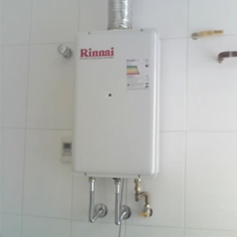 Reparo aquecedor Rinnai 18 litros na Vila Mafra