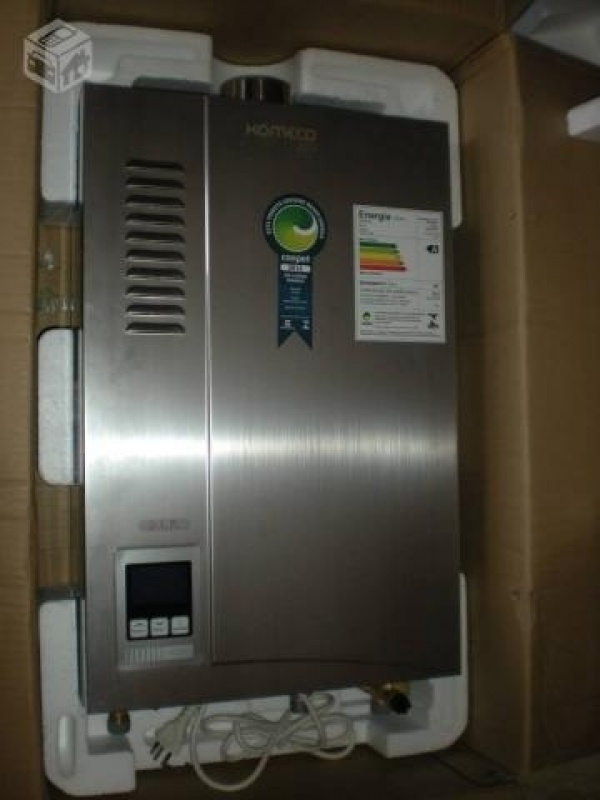 Serviço aquecedor de água na Vila Benevente