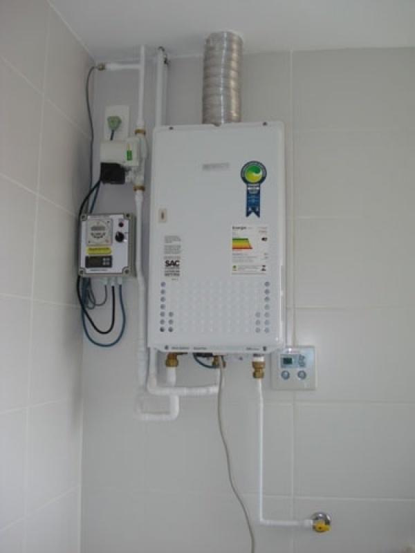 Serviço de aquecer água no Jardim Maria Alice