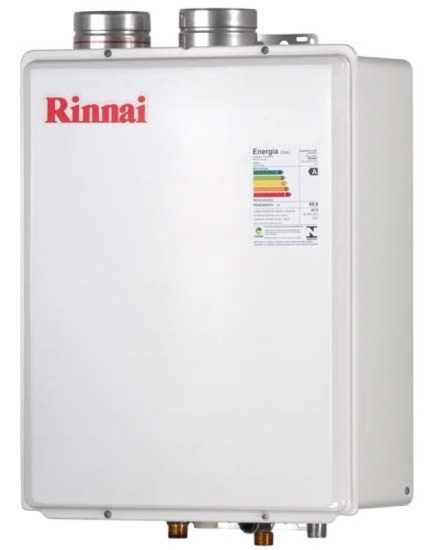 Valor de aquecedor a gás Rinnai na Vila Rosina