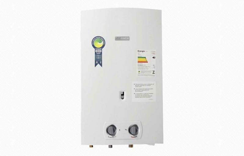 Valor de aquecedor de água no Conjunto Esmeralda