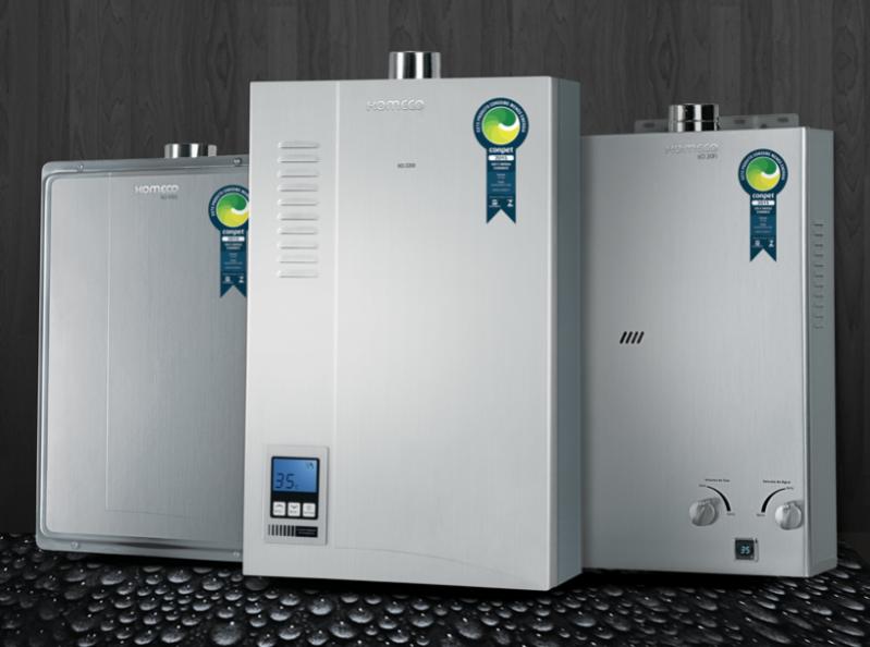 Venda e instalação de aquecedores a gás para empresas no Jardim Luísa