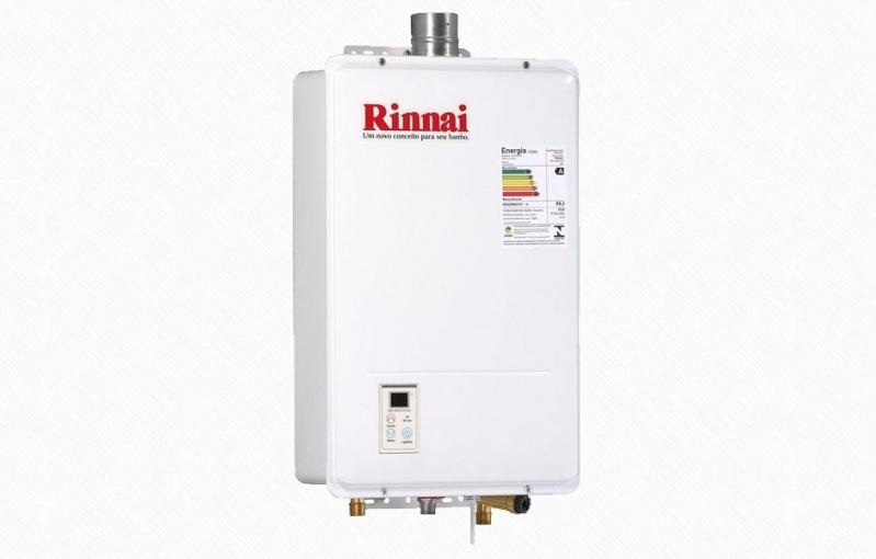 Venda e instalação de aquecedores Rinnai no Jardim Ana Maria